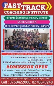 Best Sainik School Coaching In Jaipur : Royal Defence Academy